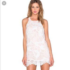 Lovers + Friends Caspian Shift Dress in White